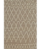 RugStudio presents Rugstudio Sample Sale 99758R Natural / Slate Hand-Knotted, Better Quality Area Rug