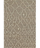 RugStudio presents Feizy Barbary 6272f Natural / Gray Hand-Knotted, Better Quality Area Rug