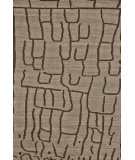 RugStudio presents Feizy Barbary 6277f Natural / Charcoal Hand-Knotted, Better Quality Area Rug