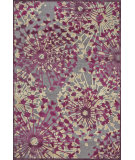 RugStudio presents Feizy Saphir Rubus 3359f Pewter / Light Silver Machine Woven, Good Quality Area Rug