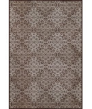 RugStudio presents Feizy Azeri Ii 3846f Dark Chocolate / Gray Machine Woven, Good Quality Area Rug