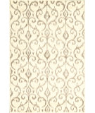 RugStudio presents Feizy Azeri Iii 3842f Cream/Gray Machine Woven, Good Quality Area Rug