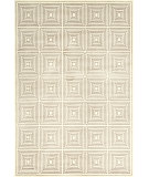 RugStudio presents Feizy Azeri Iii 3844f Cream/Gray Machine Woven, Good Quality Area Rug