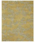 RugStudio presents Famous Maker Brian 44564 Light Gold Hand-Tufted, Best Quality Area Rug