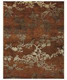RugStudio presents Famous Maker Brian 44565 Rust Hand-Tufted, Best Quality Area Rug