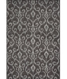RugStudio presents Feizy Azeri Iv 3842f Dark Gray / Silver Machine Woven, Good Quality Area Rug