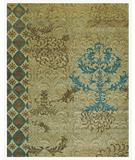 RugStudio presents Famous Maker Treasures 44642 Camel Hand-Knotted, Best Quality Area Rug