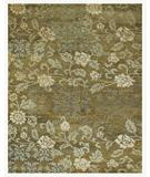 RugStudio presents Famous Maker Treasures 44648 Ocre Hand-Knotted, Best Quality Area Rug