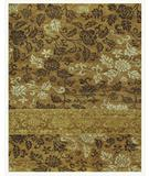 RugStudio presents Famous Maker Treasures 44649 Gold Hand-Knotted, Best Quality Area Rug