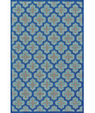 RugStudio presents Feizy Raphia Ii 105589 Black/Navy Machine Woven, Good Quality Area Rug