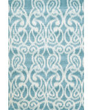 RugStudio presents Feizy Harlow 105592 Teal Machine Woven, Good Quality Area Rug