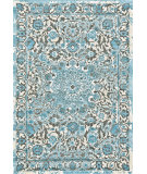 RugStudio presents Feizy Harlow 105594 Azure Machine Woven, Good Quality Area Rug