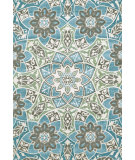 RugStudio presents Feizy Harlow 105596 Aqua Machine Woven, Good Quality Area Rug