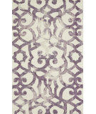 RugStudio presents Feizy Lorrain 105611 Violet Hand-Tufted, Good Quality Area Rug