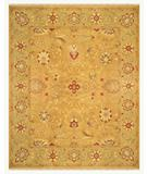 RugStudio presents Rugstudio Suzie 23988 Copper-Sage Hand-Knotted, Better Quality Area Rug