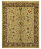 RugStudio presents Famous Maker Micha 44600 Gold-Brown Hand-Knotted, Best Quality Area Rug