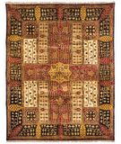 RugStudio presents Famous Maker Rock 44641 Multi Hand-Knotted, Best Quality Area Rug