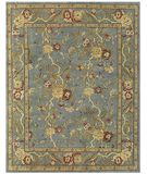 RugStudio presents Rugstudio Tonya 16861 Steel Hand-Knotted, Better Quality Area Rug