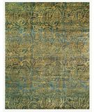 RugStudio presents Famous Maker Gallery A 44744 Blue-Multi Hand-Knotted, Best Quality Area Rug