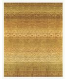 RugStudio presents Famous Maker Gallery A 44749 Gold-Multi Hand-Knotted, Best Quality Area Rug