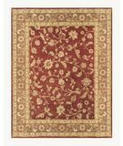 RugStudio presents Famous Maker Sander 44651 Red-Chocolate Hand-Tufted, Best Quality Area Rug
