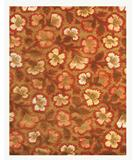 RugStudio presents Rugstudio Famous Maker 39457 Chocolate-Cherry Hand-Tufted, Better Quality Area Rug