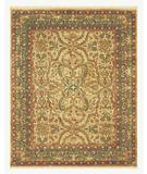 RugStudio presents Famous Maker Sophie 44542 Beige/Olive Hand-Tufted, Best Quality Area Rug