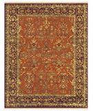 RugStudio presents Famous Maker Sophie 44544 Cinnamon-Plum Area Rug