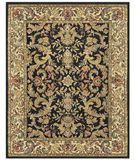 RugStudio presents Famous Maker Tilda 44638 Black/Beige Hand-Tufted, Best Quality Area Rug