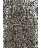 RugStudio presents Foreign Accents Elementz - Fettuccine EFC 8414 Black Champagne Silver Area Rug