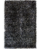 RugStudio presents Foreign Accents Elementz - Fettuccine EFC 8402 Black Area Rug