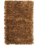 RugStudio presents Foreign Accents Elementz - Fettuccine EFC 8406 Gold Area Rug