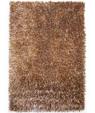 RugStudio presents Foreign Accents Elementz - Fettuccine EFC 8415 Bronze Champagne Gold Area Rug