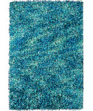RugStudio presents Foreign Accents Elementz - Starburst EST 8512 Tuquoise Area Rug
