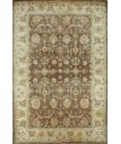 RugStudio presents Global Accents Imperial Ghazni Exemplar Brown 8004 Hand-Knotted, Good Quality Area Rug