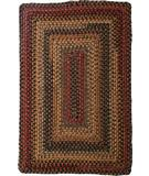 RugStudio presents Homespice Decor Wool Braid Budapest Braided Area Rug