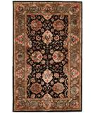 RugStudio presents Hri Romance Kc284 Black Hand-Tufted, Best Quality Area Rug