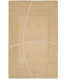 RugStudio presents HRI Abstract 8 Ivory Hand-Tufted, Best Quality Area Rug