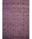 RugStudio presents Hri Himalaya Ac-03 Mauve Hand-Knotted, Good Quality Area Rug