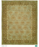 RugStudio presents Hri Anatolian B-103 Light Blue - Brown Hand-Knotted, Good Quality Area Rug