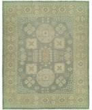 RugStudio presents Hri Anatolian 140 Light Blue - Ivory Hand-Knotted, Best Quality Area Rug
