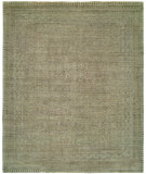 RugStudio presents Rugstudio Sample Sale 99216R Grey - Green Hand-Knotted, Good Quality Area Rug