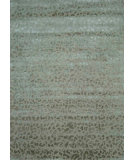 RugStudio presents Hri Himalaya Ape-02 Light Sage Hand-Knotted, Good Quality Area Rug