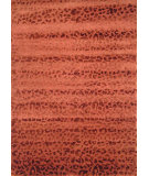 RugStudio presents Hri Himalaya Ape-02 Terracotta Hand-Knotted, Good Quality Area Rug