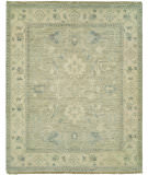 RugStudio presents Hri Aria AR-3 Light Grey - Beige Hand-Knotted, Good Quality Area Rug