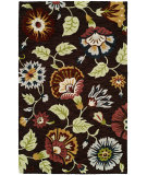 RugStudio presents Hri Artisan Cabrio 2883 Brown Hand-Tufted, Good Quality Area Rug