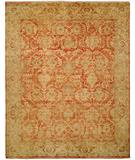 RugStudio presents HRI Oushak B-260 Rust/Gold Hand-Knotted, Best Quality Area Rug