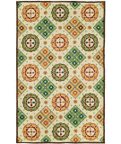 RugStudio presents HRI Bel Air 23478-Z3 Ivory - Gold Woven Area Rug