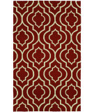 RugStudio presents Hri Bel Air 5059Q-9 Red Woven Area Rug