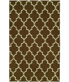 RugStudio presents Hri Bel Air 5078A-11 Brown Woven Area Rug